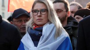 Юрист Фонда борьбы с коррупцией (ФБК) Любовь Соболь