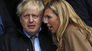 Britain's Prime Minister Boris Johnson and Carrie Symonds got married in a 'secret ceremony'