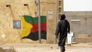 Si les rebelles étaient bien présents, aucune délégation du pouvoir n'avait fait le déplacement depuis Bamako.