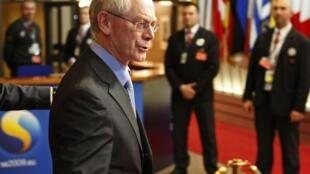 Herman Van Rompuy, premier président de l'Union européenne