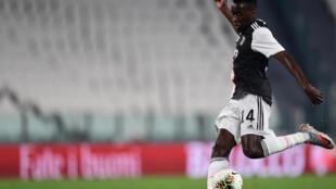 Blaise Matuidi sous le maillot de la Juventus, le 26 juin 2020 à Turin