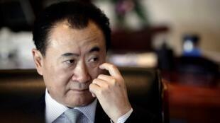 中國首富,萬達集團老闆王健林。