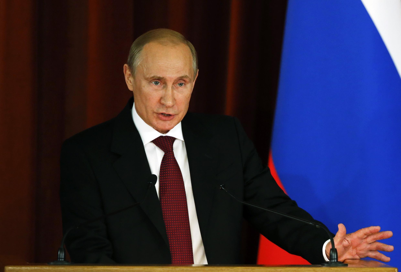 Владимир Путин  01/07/2014
