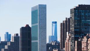 Le siège des Nations unies (au centre).