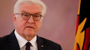Le président de la République fédérale d'Allemagne, Frank-Walter Steinmeier, le 20 novembre 2017 à Berlin.