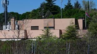 Đại sứ quán Bắc Triều Tiên tại Madrid. Ảnh chụp ngày 28/03/2019.