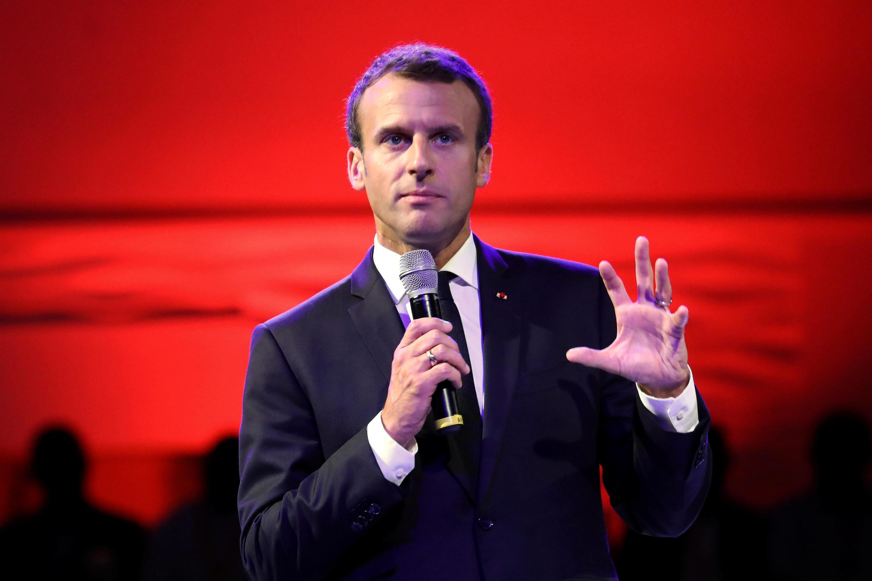 Shugaba  Emmanuel Macron na Faransa