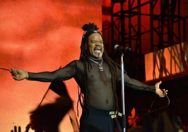 Carlinhos Brown cantou no David Geffen Hall em Nova York