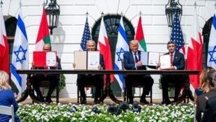 accord Israel - Emirats