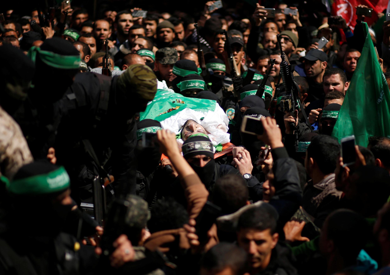 Похороны Мазена Фатха в субботу 25 марта