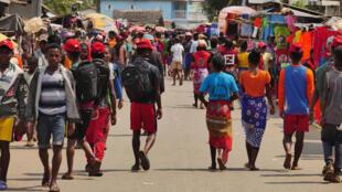 IMAGE MADAGASCAR MARCHE COMMERCE Ifanadiana 16/12/2020