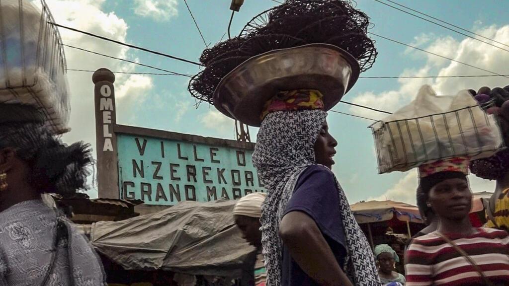 Guinée: malgré Ebola, la vie suit son cours à Nzérékoré