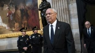 El ex jefe del Estado Mayor Conjunto y exsecretario de Estado Colin Powell
