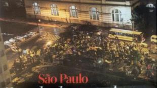 Imagem do centro de São Paulo ilustra a reportagem sobre a Cracolândia na edição de quarta-feira (20) do Libération.