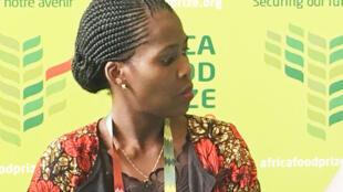 L'Ougandaise, Dr. Emma Naluyima, co-lauréate de l'Africa food prize 2019.