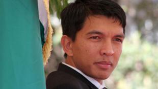 Andry Rajoelina, le 2 septembre 2009.