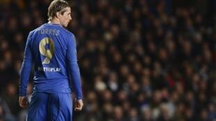 Dan wasan Chelsea, Fernando Torres.