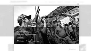 Capture d'écran du site prix Bayeux.