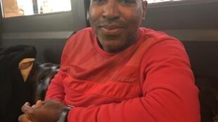 Klim Mota, artista guineense.