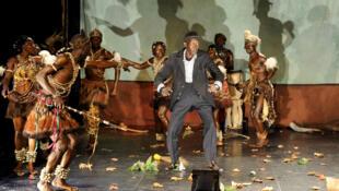 La pièce « Songo la rencontre » est une fable écologique, réécrite pour évoquer les violences qui ensanglantent la Centrafrique.