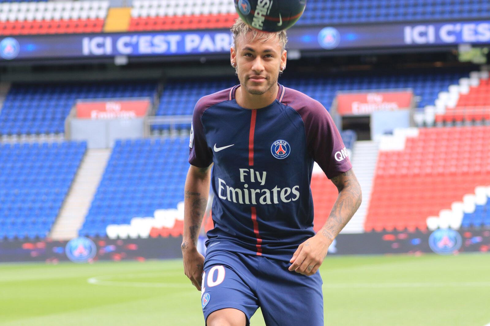 Neymar, avançado do PSG.