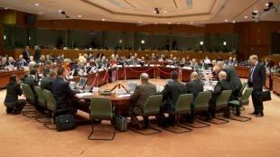 Reunião dos ministros das Relações exteriores em Bruxelas nesta quinta-feira, 31 de janeiro de 2013.