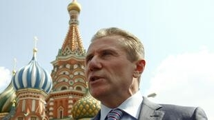 Former pole vaulter Sergey Bubka, Moscow on 8 August, 2013