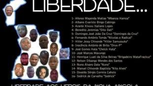 Liberdade aos heróis da nova Angola