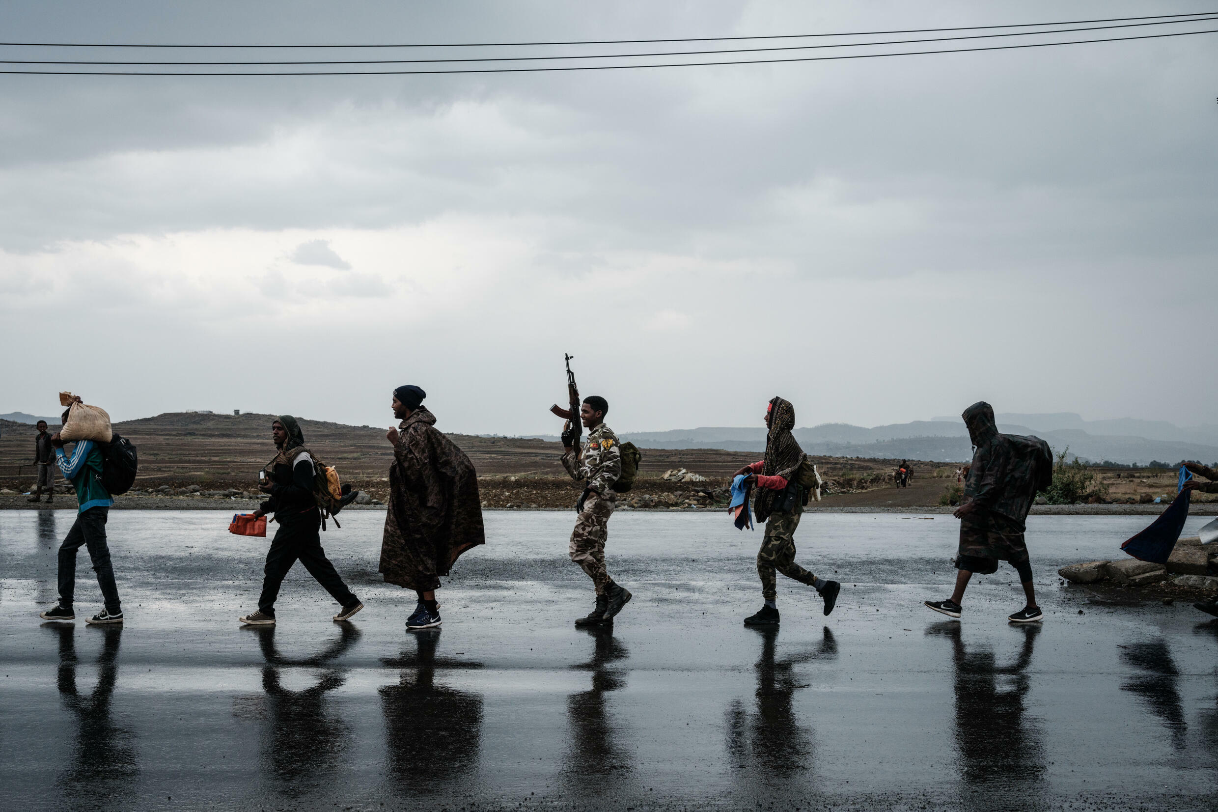 The Tigray Defence Forces (TDF) recaptured the regional capital Mekele at the end of June