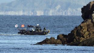 Hải quân Hàn Quốc tìm kiếm thi hài viên chức bị Bắc Triều Tiên bắn hạ trên biển hôm thứ Ba, 22/09/2020.