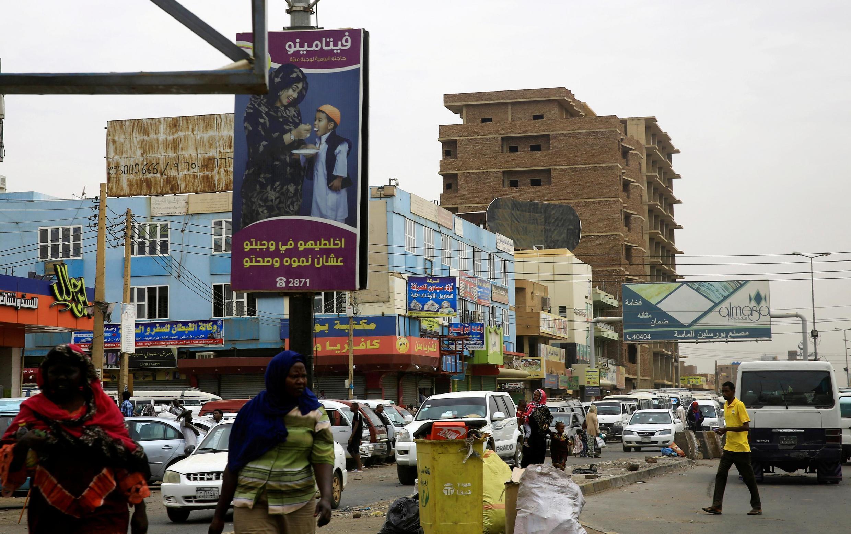 Une rue de Khartoum la capitale du Soudan (image d'illustration).