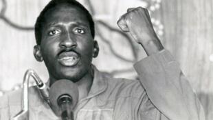 kipande cha filamu « Capitaine Thomas Sankara », yaChristophe Cupelin.