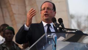 Discurso de François Hollande en Bamako, Mali, el pasado 2 de febrero de 2013.