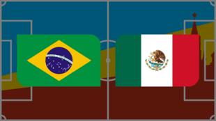 Coupe du monde 2018: vivez Brésil-Mexique en direct