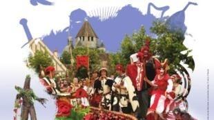 Festa Medieval de Provins, que acontece todos os anos no mês de junho.