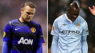 Rooney da Balotelli bayan bayan shan kashi a gasar Europa