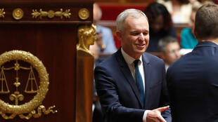 François de Rugy, lors de la session inaugurale de la XVe législature à l'Assemblée nationale, le 27 juin 2017.