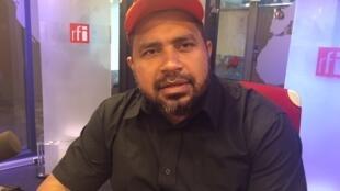 João Paulo Rodrigues, coordenador nacional do MST, nos estúdios da RFI.