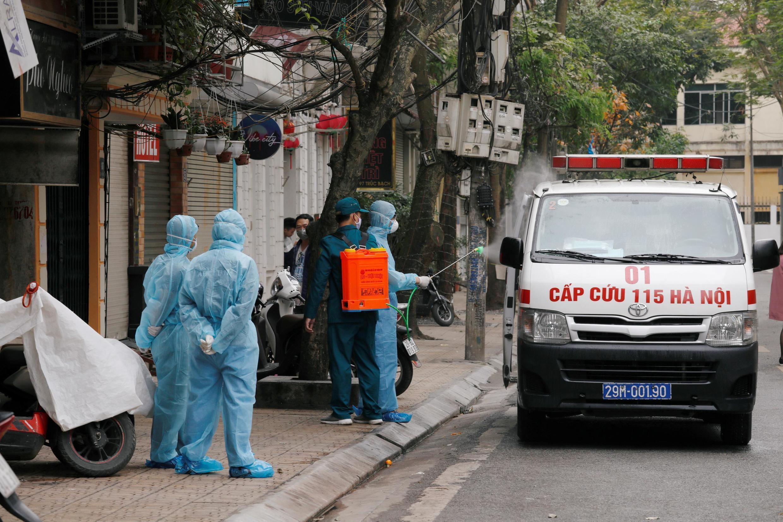 Virus corona : Việt Nam chuẩn bị đóng cửa các hoạt động không cần thiết.. Ảnh chụp ngày 07/03/2020.