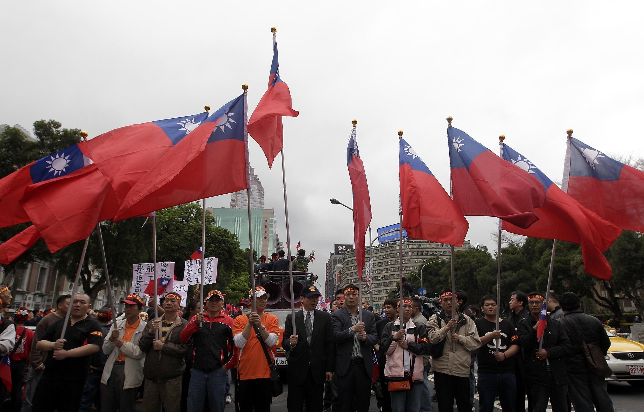 Phong trào sinh viên Đài Loan biểu tình 17 ngày liên tục - REUTERS /Pichi Chuang