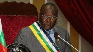 Abdou Karim Meckassoua est le président de l'Assemblée nationale de Centrafrique.