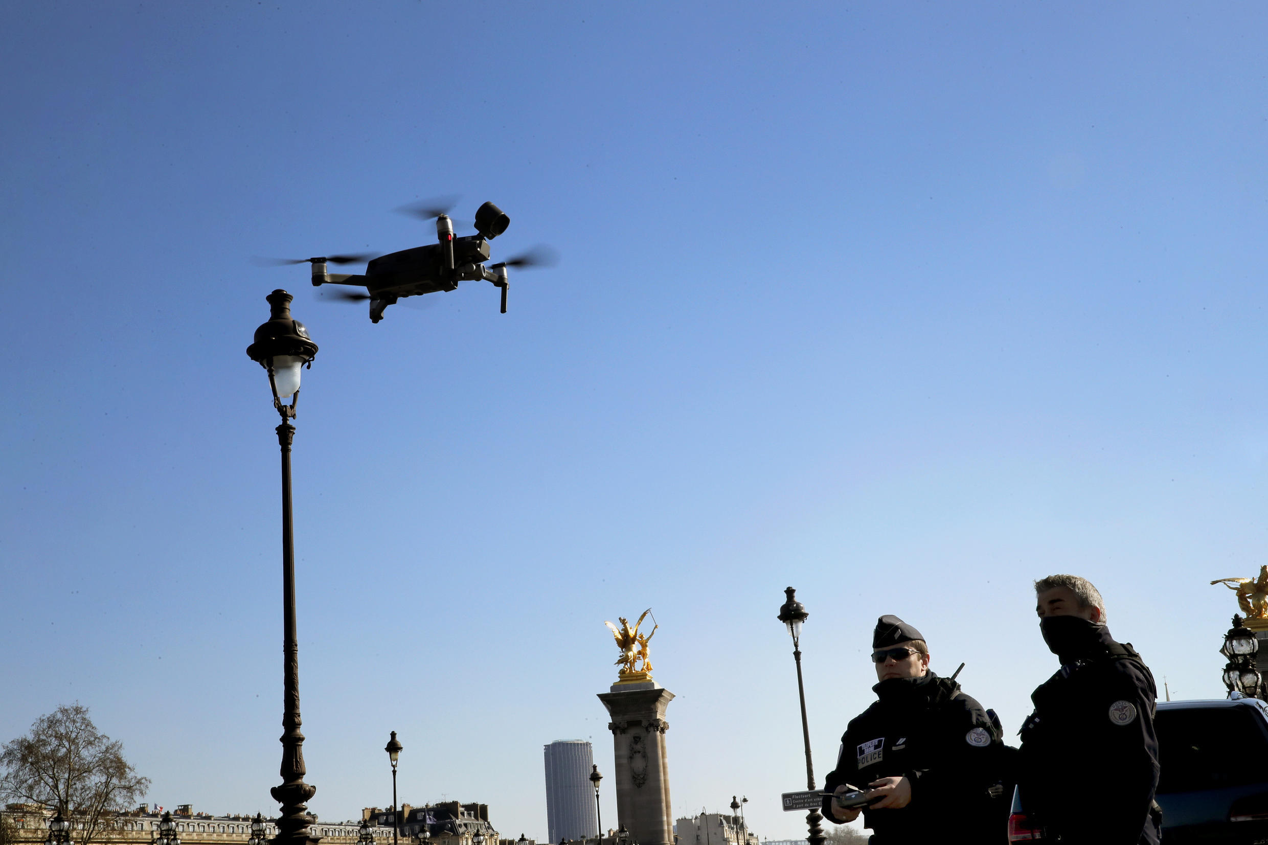 France Drone Police Court