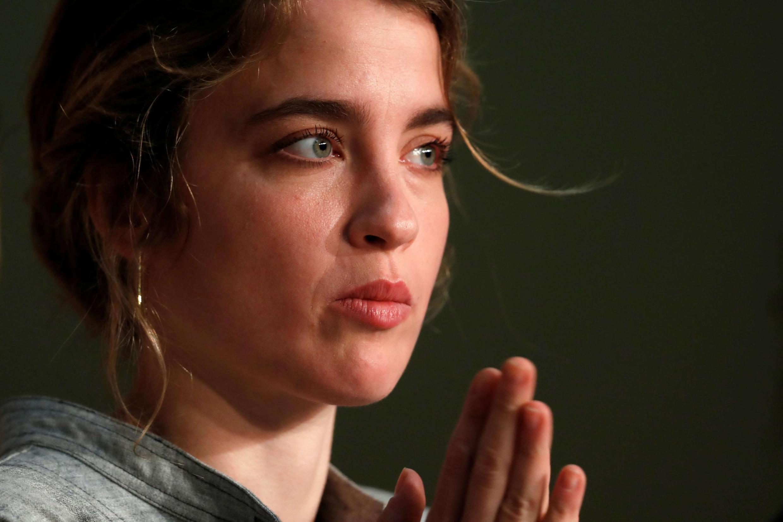 """A atriz Adèle Haenel acusou o diretor Christophe Ruggia de """"agressão sexual"""" quando ela tinha entre 12 e 15 anos. Photo prise en mai 2017."""