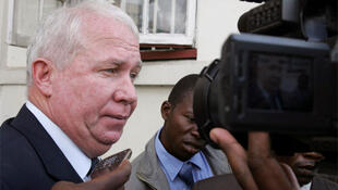 Roy Bennett, arrives at court in Harare, March 2010