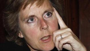 A comissária Connie Hedegaard, responsável pelas ações contra as mudanças climáticas na Comissão Europeia.