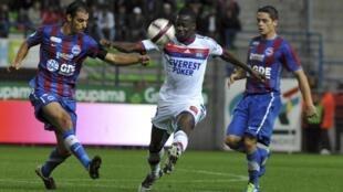 O Lyon perdeu do Caen por 1 a 0