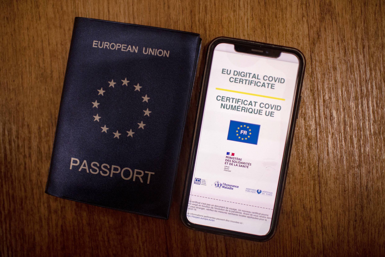 passaporte sanitário europeu