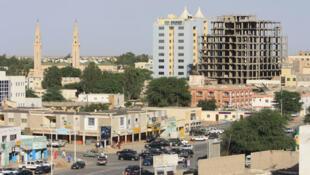 Vue de la capitale mauritanienne Nouackchott.