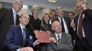 Os ministros das finanças dos 27 países da União Europeia se reuniram em Luxemburgo.