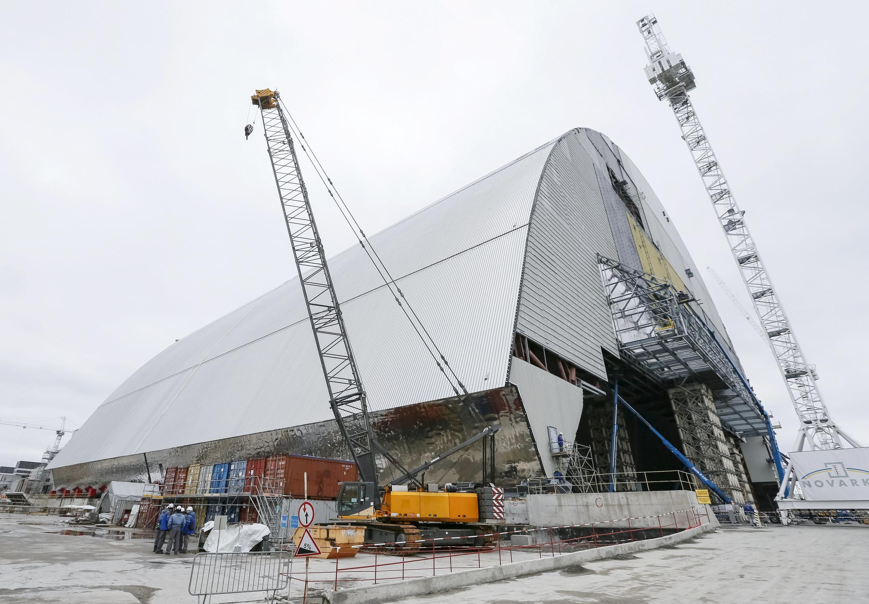 Проектировщики нового укрытия для четвертого энергоблока называют арку «инженерным чудом XXI века».